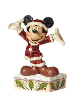 Disney Enesco Traditions Jim Shore Figur Mickey Mouse Weihnachtsmann