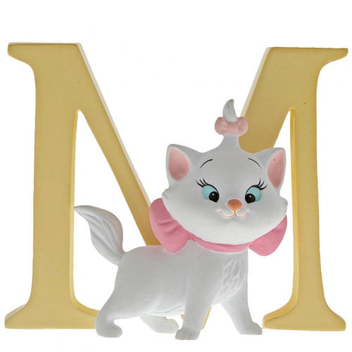"Disney Enesco Enchanting Buchstabe : ""M"" - Marie Aristocats"