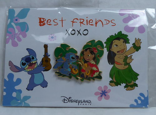 Disney Pin Pins DLRP 2019 Trade Set Lilo & Stitch