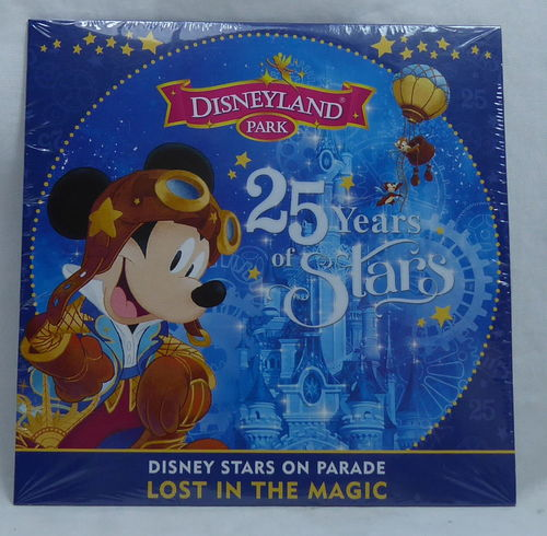 Disney Disneyland Paris 25 Years of the Stars CD
