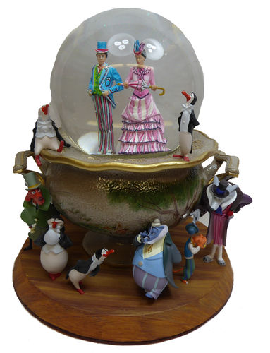 Disney Disneyland Paris Figur Schneekugel Mary Poppins LE 3000 pcs.
