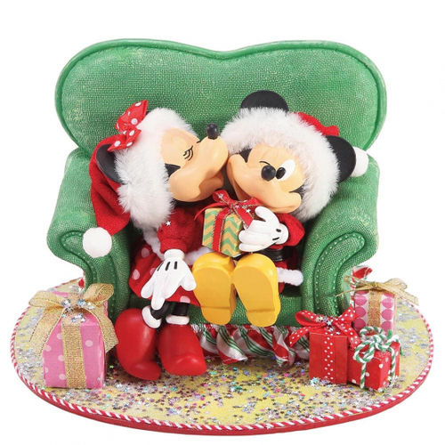 Disney Enesco Possible Dreams Weihnachten : Mickey & Minnie Mouse Perfect Gift
