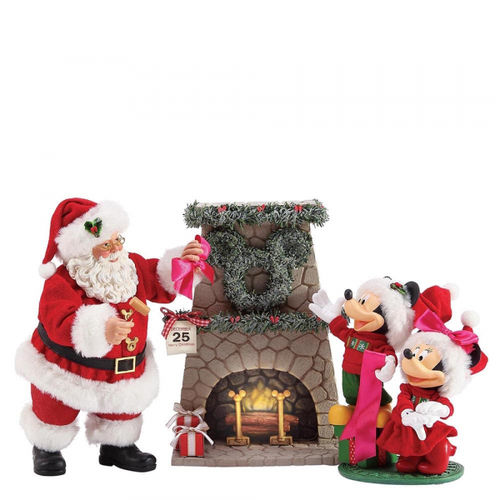 Disney Enesco Possible Dreams Weihnachten : Mickey & Minnie Mouse Perfect Wreat  Der perfekte Kranz