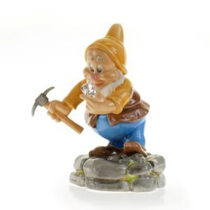 Disney Figur English Ladies Zwerg Diamond Mine Happy mit Swarowski Kristall