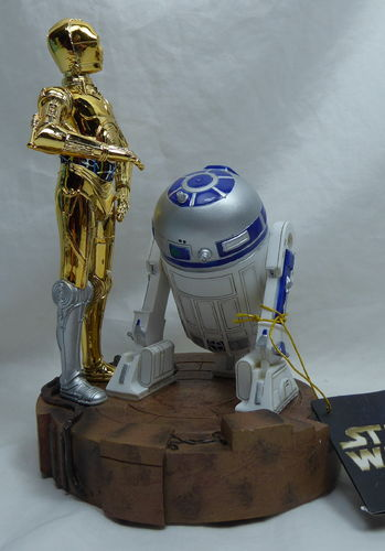 Disney Figur Disneyland Paris Star Wars R2D2 und 3PO