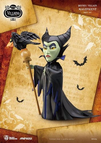 Disney Villains Mini Egg Attack Figur Maleficent 9 cm