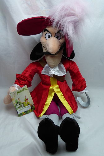 Disney Disneyland Paris Plüsch Teddy Figur Plüschtier : Captain Hook von Peter Pan