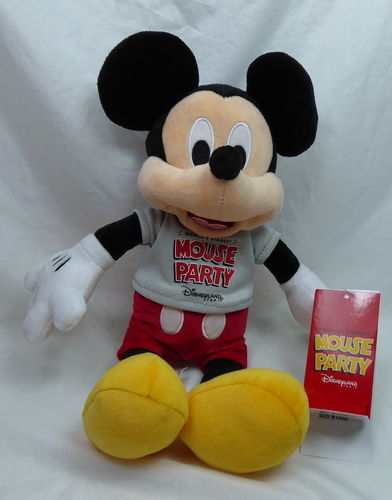 Disney Disneyland Paris Plüsch Teddy Figur Plüschtier : Mickey Mous Worlds Biggest Mouse Party