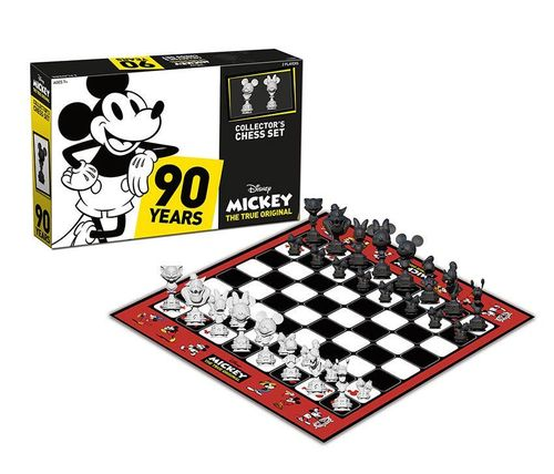 Disney Schachspiel Collector's Set Mickey The True Original USAopoly