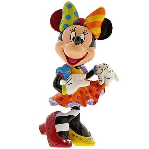 Disney Enesco Britto Figur 90 Jahre Mickey Mouse : 6001011 Minnie Bling