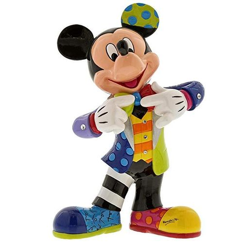 Disney Enesco Britto Figur 90 Jahre Mickey Mouse : 6001010 Mickey Bling