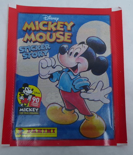 Disney Panini Sticker 90 Jahre Mickey Mouse Set