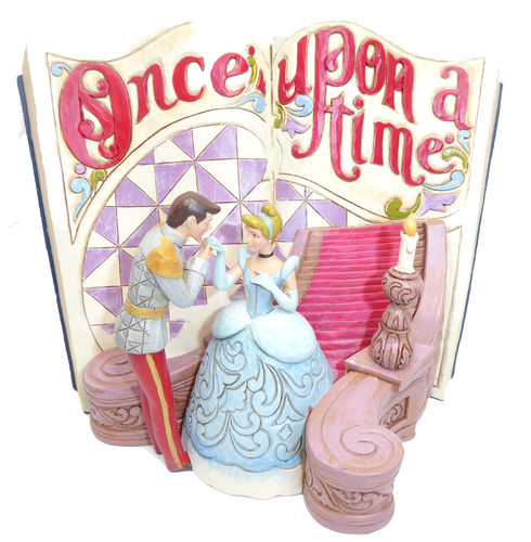 Disney Enesco Traditions Jim Shore 4031482 Story Book Cinderella 2019