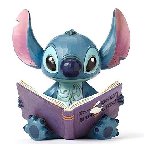 "Disney Enesco Traditions Jim Shore 4048658 Stitch ""Finding a Family"""