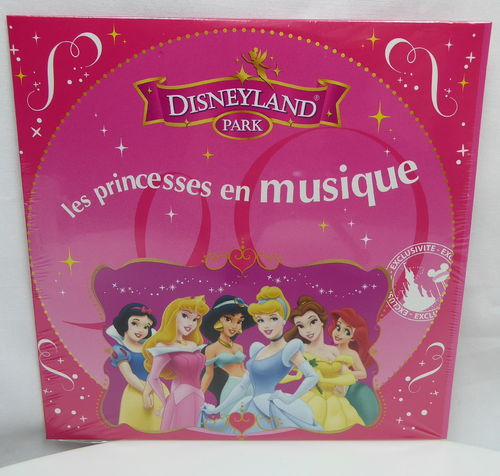 Disney Disneyland Paris les princesses en musique Prinzessinen Musik CD