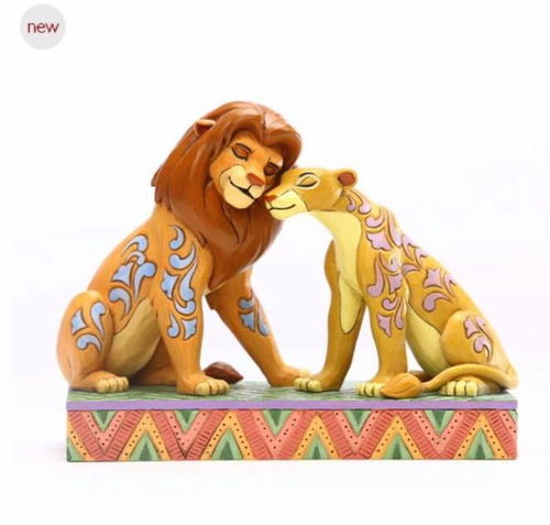 Disney Enesco Traditions Figur Jim Shore : König der Löwen Simba & Nala