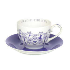 Disney English Ladies Co Porzellan Tasse und Untertasse Rapunzel