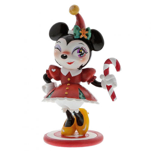 Disney Enesco Miss Mindy Showcase : 6003766 Minnie Mouse Chistmas