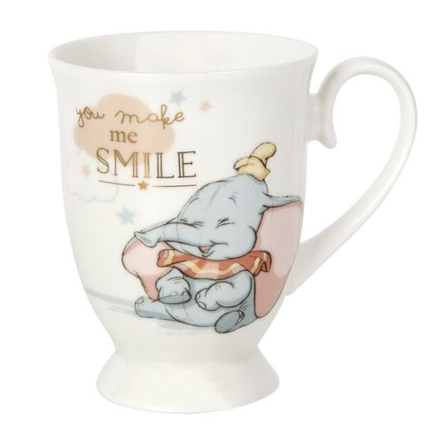 Disney MUG Kaffeetasse Tasse Pott Teetasse Widdop magical Moments : Dumbo smile
