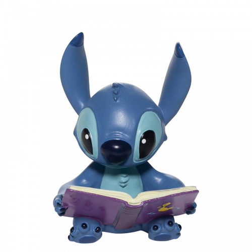 Disney Enesco Showcase Stitch mit Buch Figur