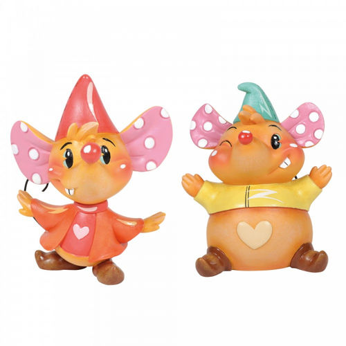 Disney Enesco Miss Mindy Figur Cinderella Jaq and Gus Gus