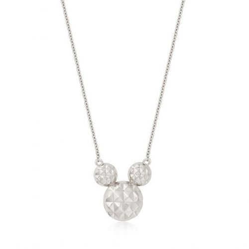 Mickey Maus - Halskette Diamond Cut Sterling Silber Couture Kingdom
