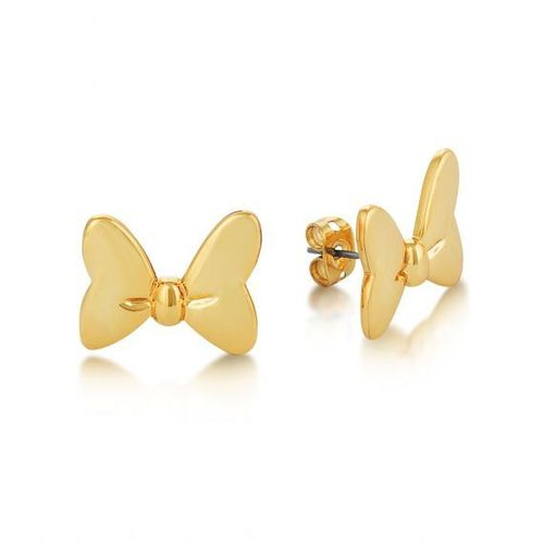 Kristall-Ohrstecker Gold Couture Kingdom Minnie Maus