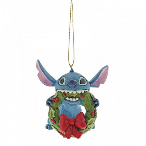 Disney Eneseco Traditions Jim Shore Weihnachtsbaumschmuck Ornament A30357 Stitch