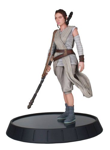 Star Wars Movie Milestones Statue 1/6 The Force Awakens Rey 28 cm