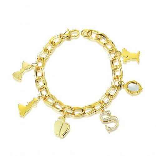 Schneewittchen Charm Armband Gold Couture Kingdom