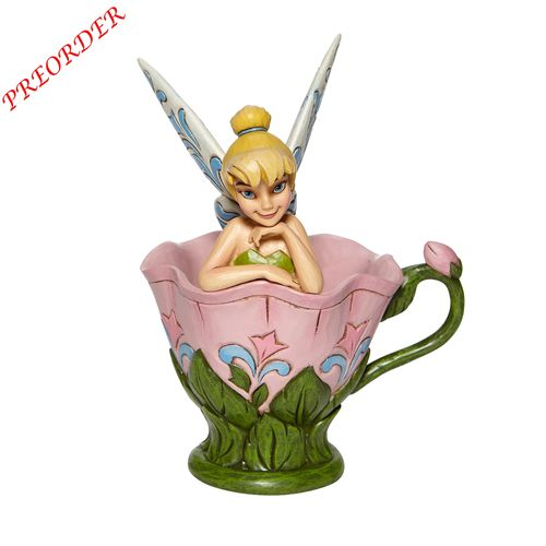 Disney Enesco Traditions Jim Shore  Tink Sitting in Flower 6008076