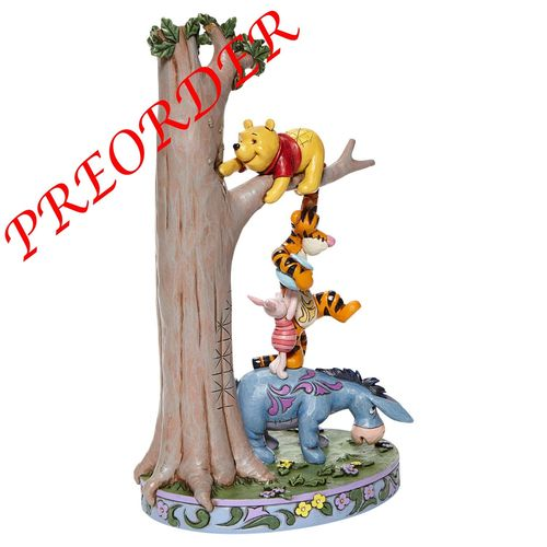 Disney Enesco Traditions Jim Shore 6 Tree with Pooh and friends 6008072
