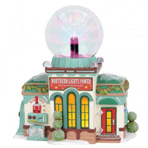 Enesco Department 56 North Pole series : Nothern Lights Power