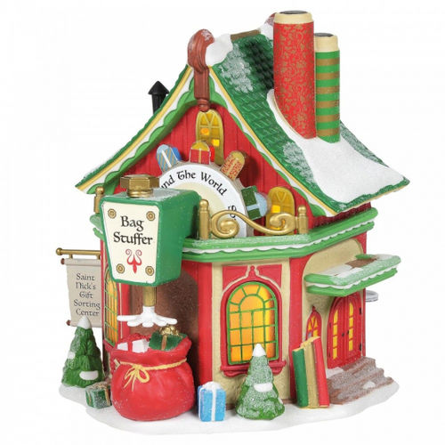 Enesco Department 56 North Pole series : Saint Nick`s Gift Sorting Centre