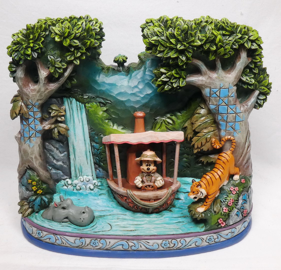 Disney Eneseco Traditions Jim Shore Parks Exclusiv 6008491 Jungle Cruise