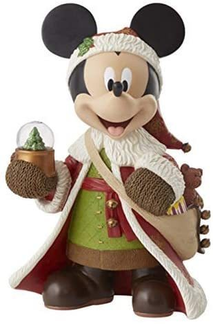 Disney Enesco Showcase 60082344  Mickey Mouse Weihnachtsmann Old World St. Mick